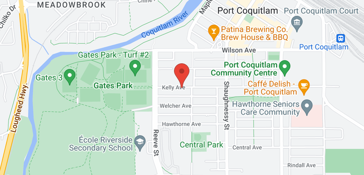 map of 108 2436 KELLY AVENUE