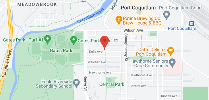 map of 22 2431 KELLY AVENUE