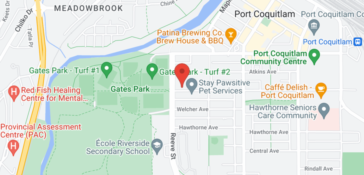 map of 310 2477 KELLY AVENUE