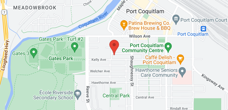 map of 405 2331 KELLY AVENUE