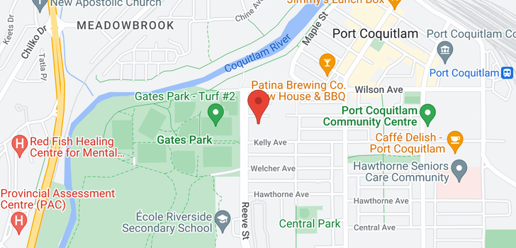 map of 103 2468 ATKINS AVENUE