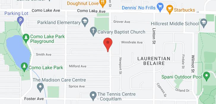 map of 1693 SMITH AVENUE