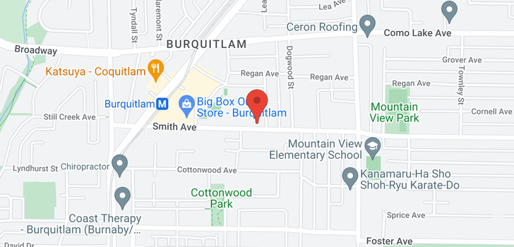 map of 316 617 SMITH AVENUE