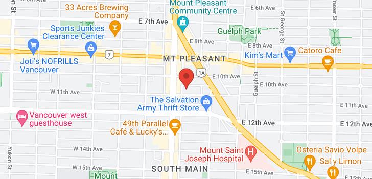 map of 310 2688 WATSON STREET