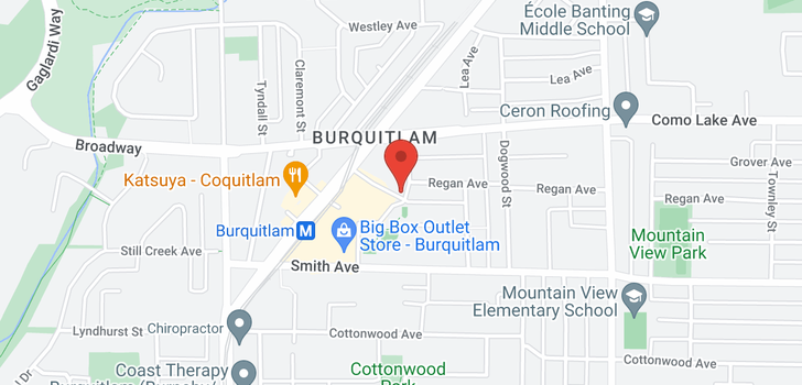map of 801 570 EMERSON STREET
