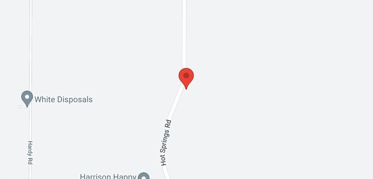 map of 3266 HOT SPRINGS ROAD