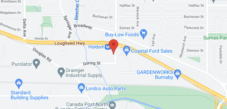 map of 407 2225 HOLDOM AVENUE
