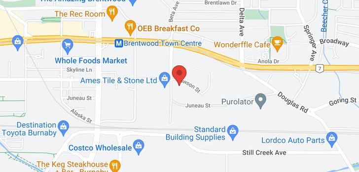 map of 311 4728 DAWSON STREET