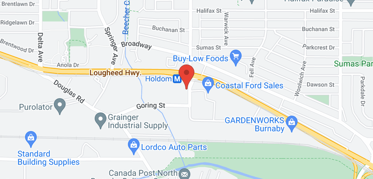map of 2402 2225 HOLDOM AVENUE