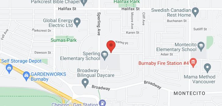 map of 6823 ADAIR STREET