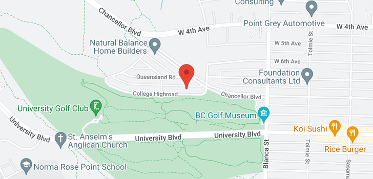 map of 4843 COLLEGE HIGHROAD