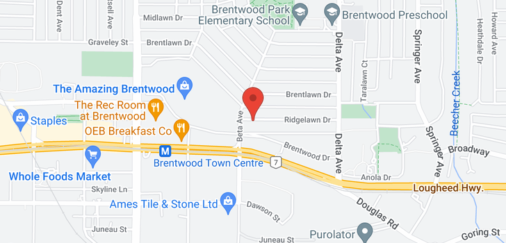 map of 304 4728 BRENTWOOD DRIVE