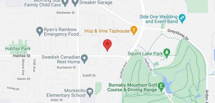 map of 902 7321 HALIFAX STREET