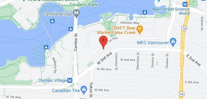 map of 266 W 1ST AVENUE