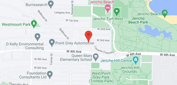 map of 4408 W 3RD AVENUE