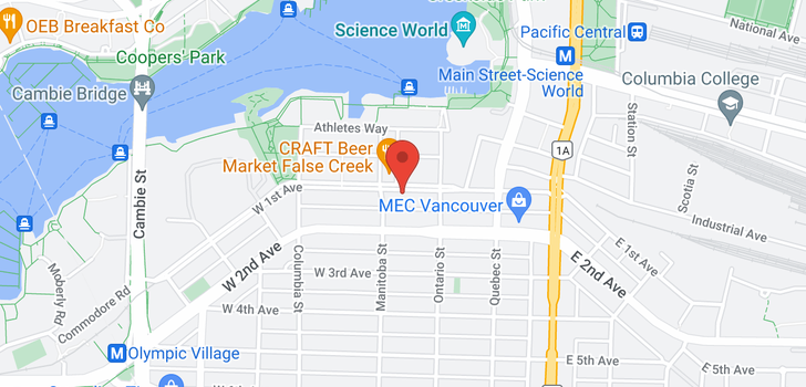 map of 804 88 W 1ST AVENUE