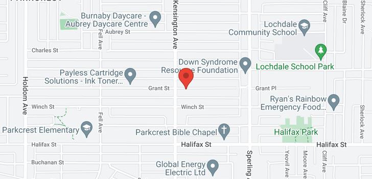 map of 6522 GRANT STREET