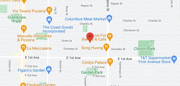 map of 2250 GRANT STREET
