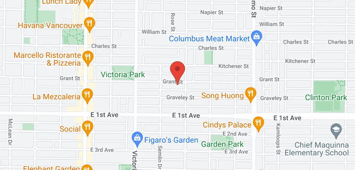 map of 2056 GRANT STREET