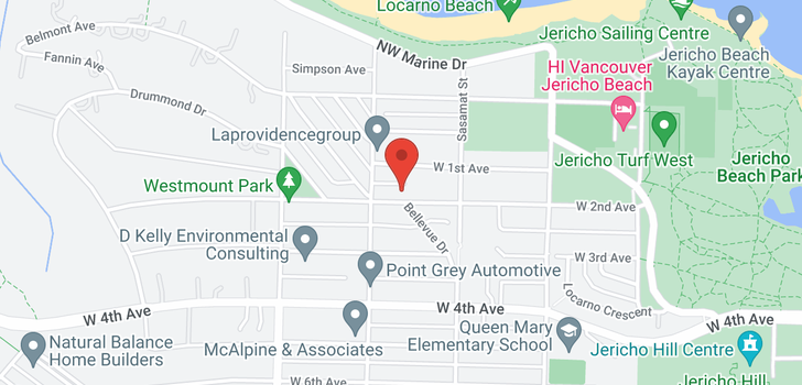 map of 4563 W 2ND AVENUE