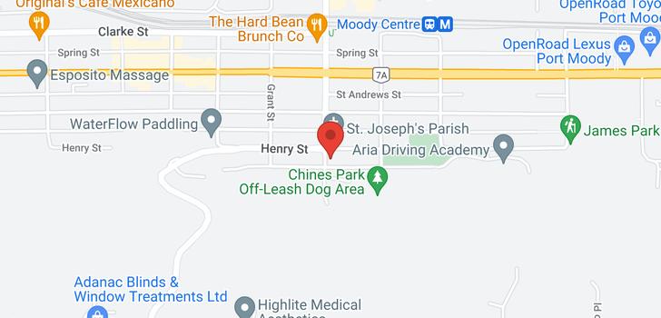 map of 2801 HENRY STREET
