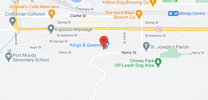 map of 105 195 MARY STREET