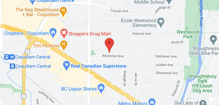map of 2683 KITCHENER AVENUE
