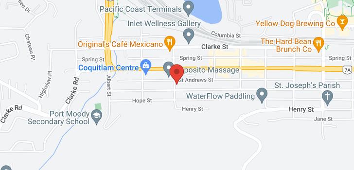 map of 2310 80 ELGIN STREET