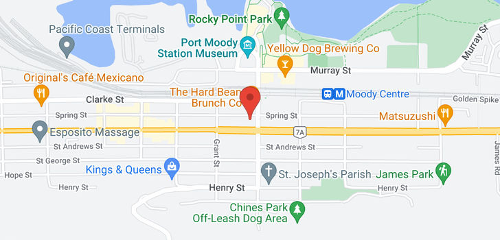 map of 516 95 MOODY STREET