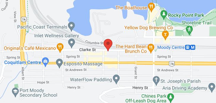 map of 503 2525 CLARKE STREET