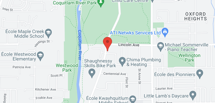 map of 2171 STIRLING AVENUE