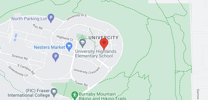 map of 415 9319 UNIVERSITY CRESCENT