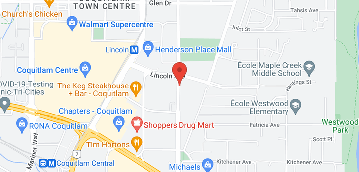 map of 1905 3080 LINCOLN AVENUE
