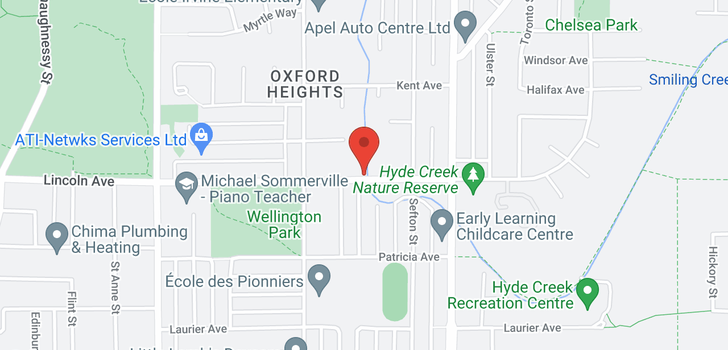 map of 1635 LINCOLN AVENUE