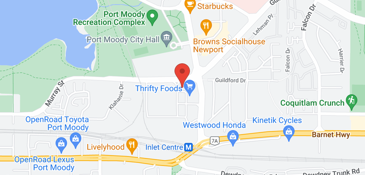 map of 2702 110 BREW STREET