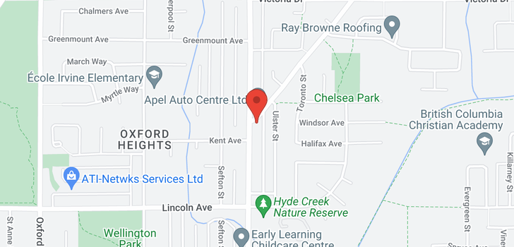 map of 1498 APEL DRIVE