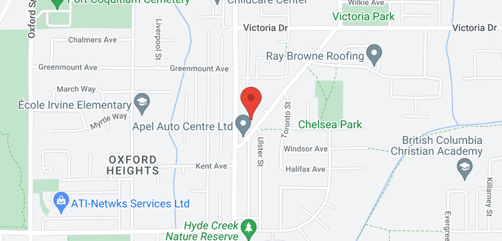 map of 1455 APEL DRIVE