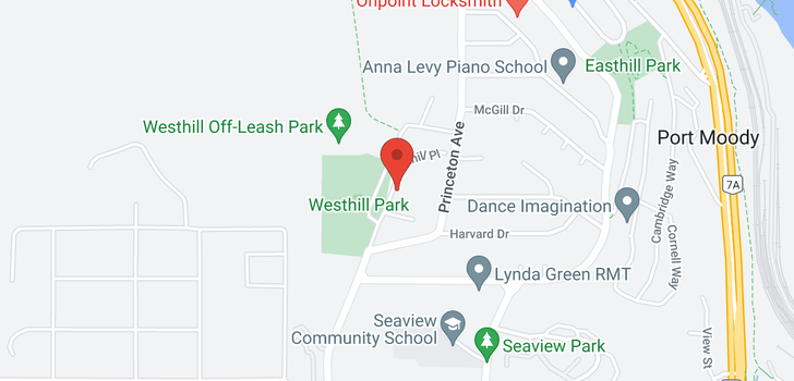 map of 309 204 WESTHILL PLACE
