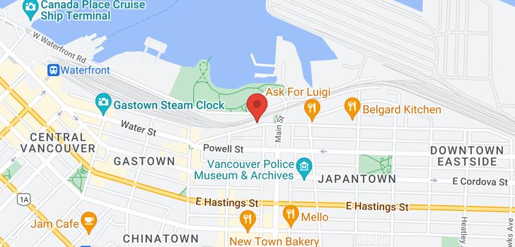 map of 137 ALEXANDER STREET