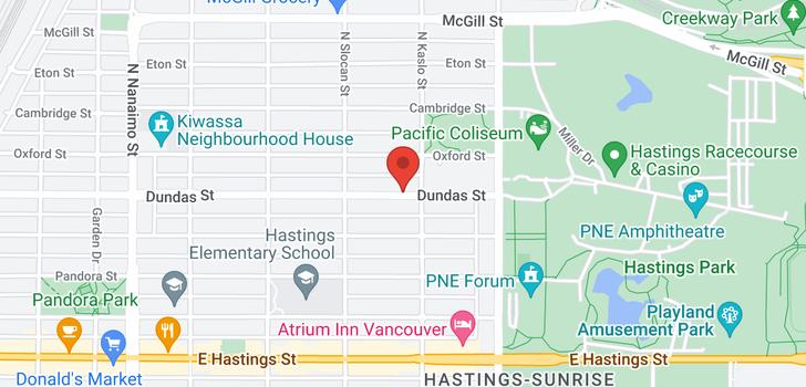 map of 2773 DUNDAS STREET
