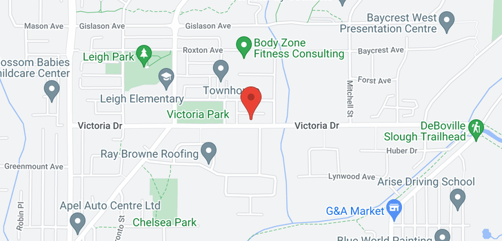 map of 3467 VICTORIA DRIVE