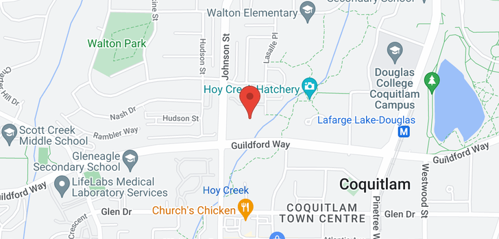 map of 317 1220 LASALLE PLACE