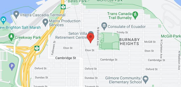 map of 3756 ETON STREET