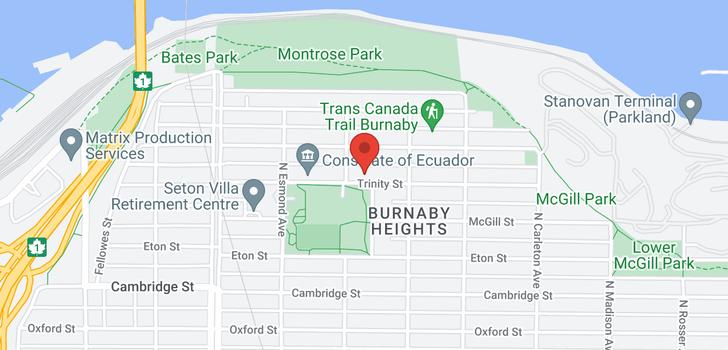 map of 3913 TRINITY STREET