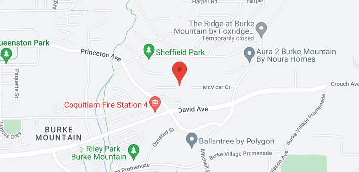 map of 3535 GALLOWAY AVENUE