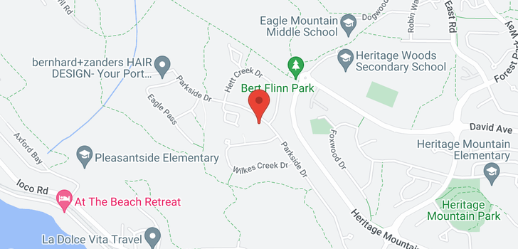 map of 223 PARKSIDE DRIVE