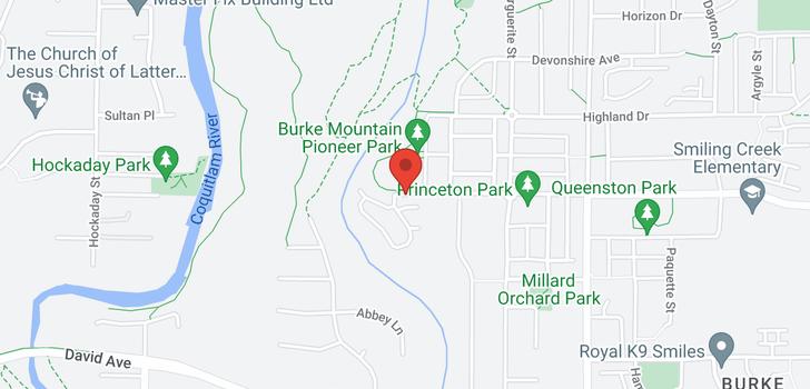 map of 55 3306 PRINCETON AVENUE