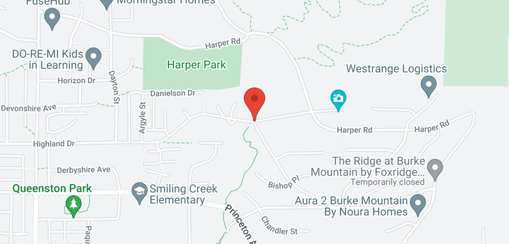 map of 3532 HIGHLAND DRIVE