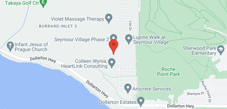 map of 9 3595 SALAL DRIVE