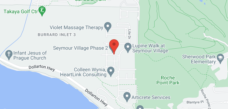 map of 9 3596 SALAL DRIVE